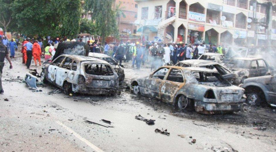 Al menos 22 muertos en un atentado cometido por cuatro mujeres suicidas en Nigeria