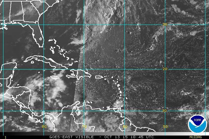 Sistema de alta presión domina las condiciones del tiempo este martes