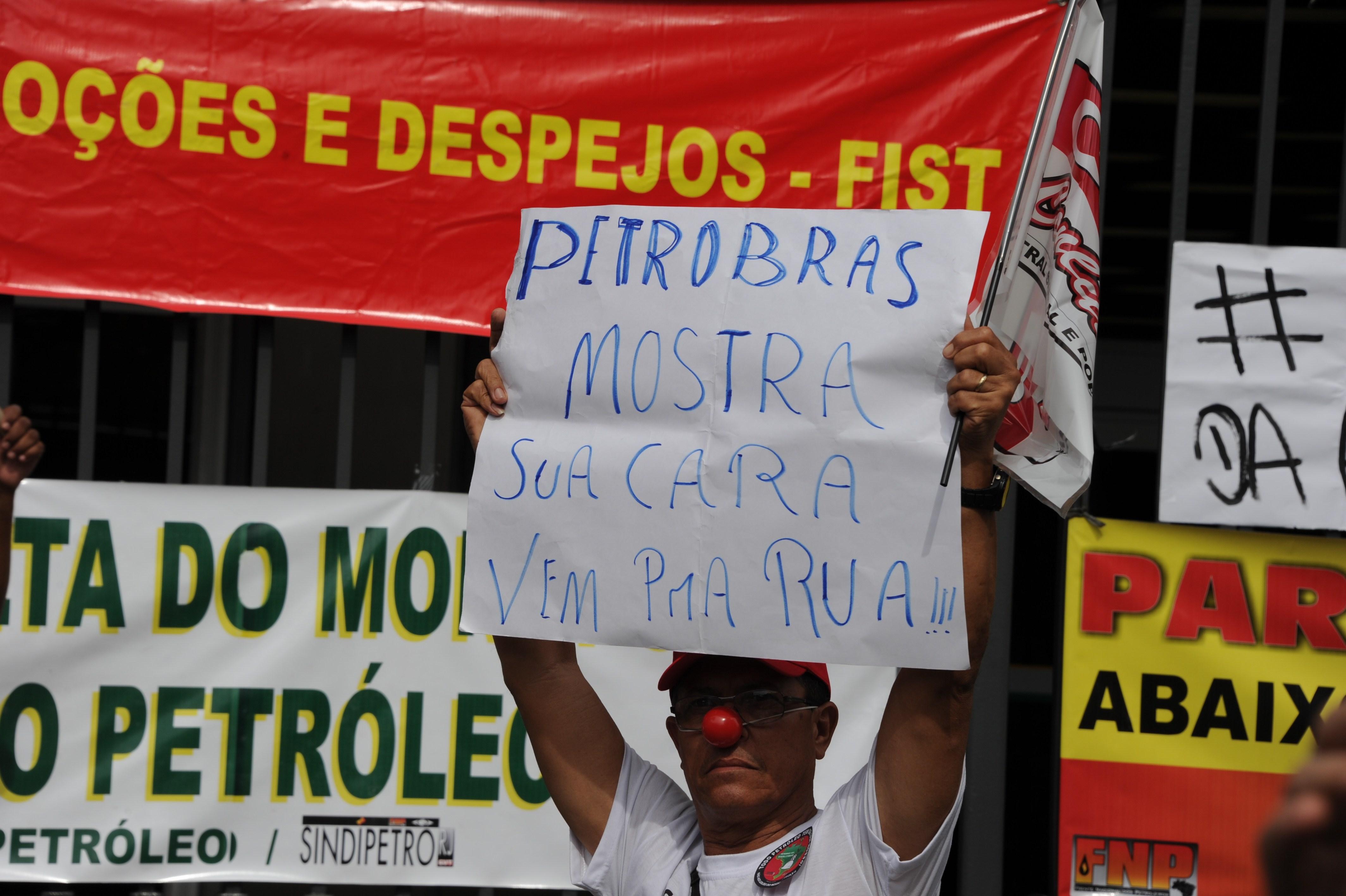 Anuncian una huelga en Brasil contra la venta de activos de Petrobras