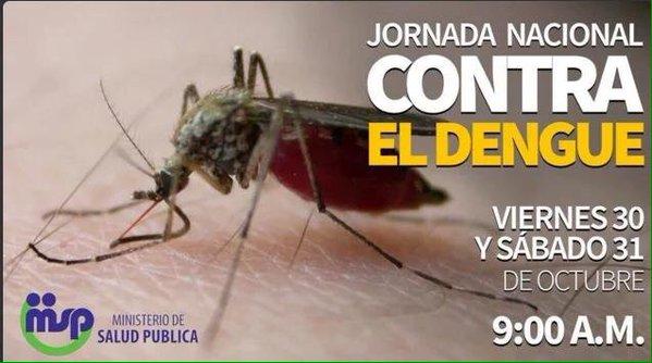 PGR se suma a la jornada nacional contra el dengue