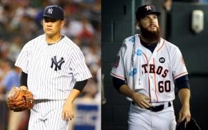 Tanaka y Keuchel, claves en definir al campeón del comodín en la Americana