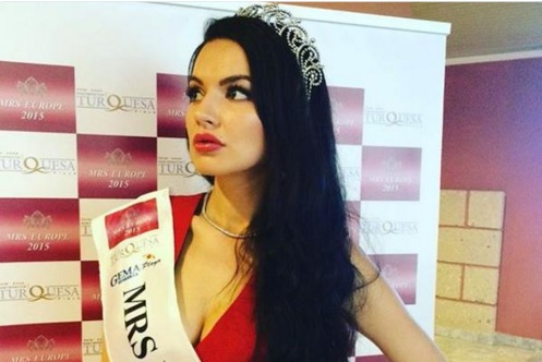 Una rusa gana certamen de belleza Mrs. Europe 2015