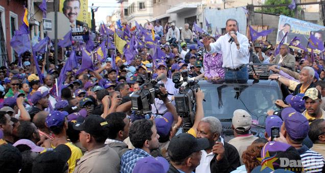 Danilo Medina participará este fin de semana en actividades de campaña para elecciones 2016