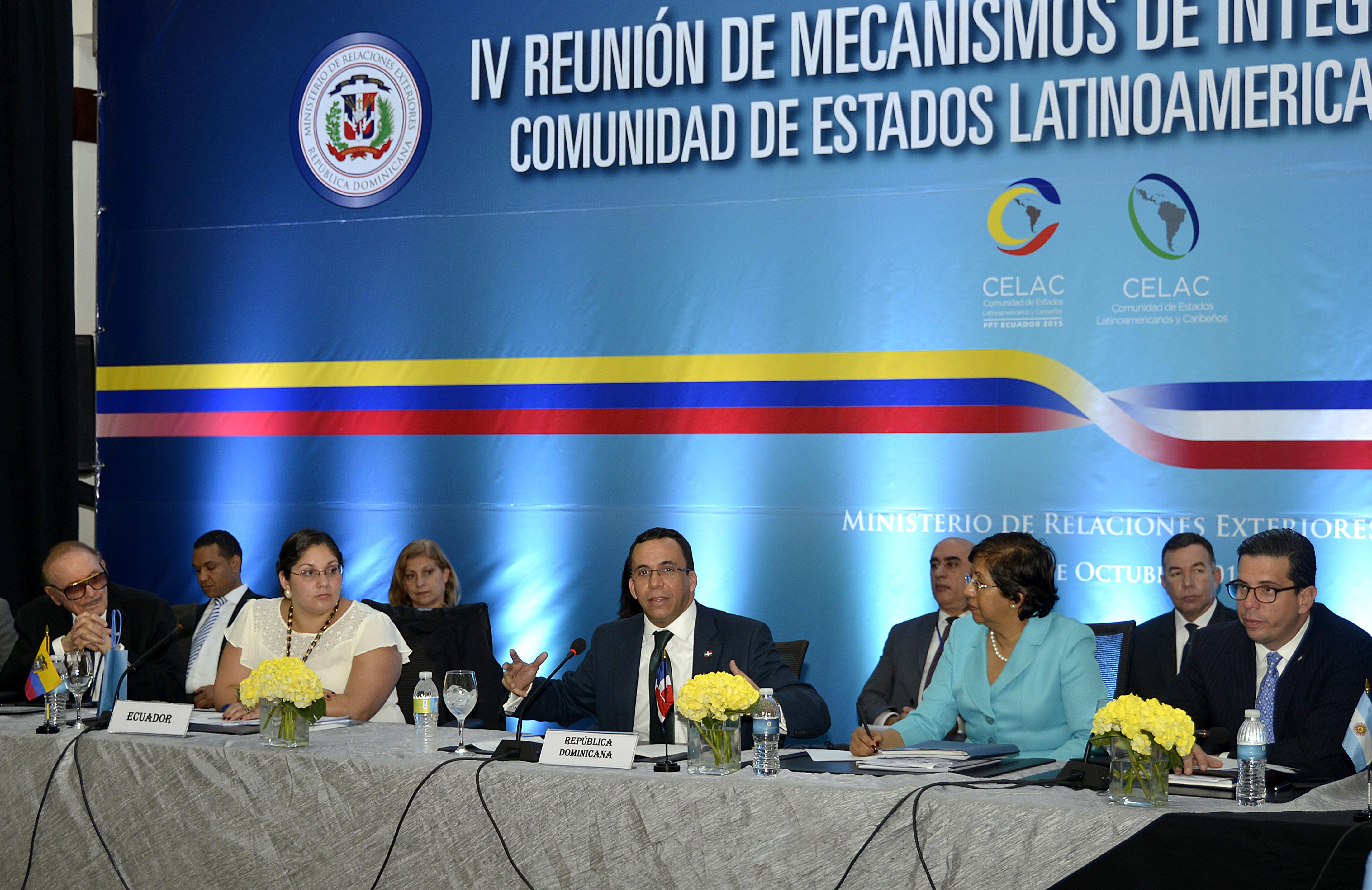 Canciller ratifica compromiso de RD con fortalecer integración de AL y Caribe via la Celac