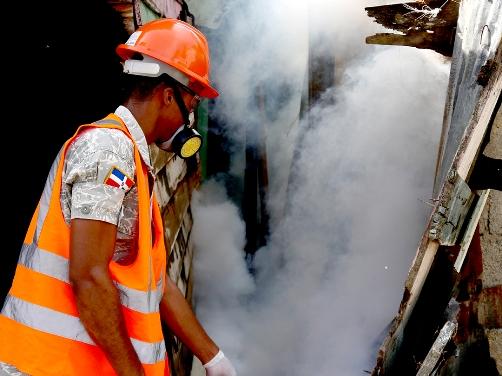 Realizan operativo nacional contra el dengue