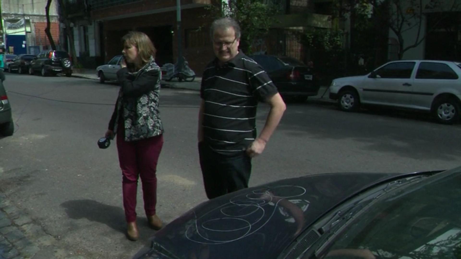 Vecinos de Buenos Aires se quejan de nuevo tipo de vandalismo: rayar autos