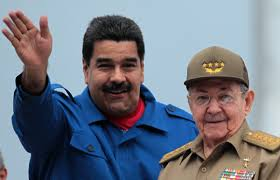 Raúl Castro se reúne con el presidente venezolano Nicolás Maduro en La Habana