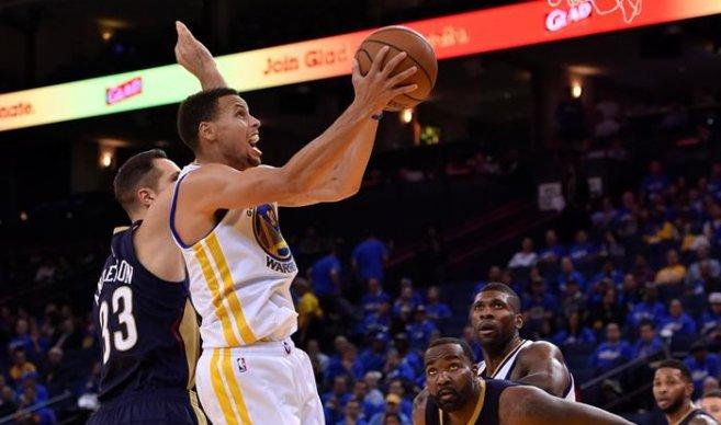 Warriors ganan revancha a Rockets; James el duelo con Wade