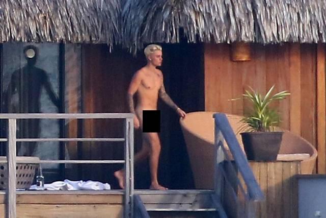 El desnudo frontal de Justin Bieber causa revuelo en las redes sociales