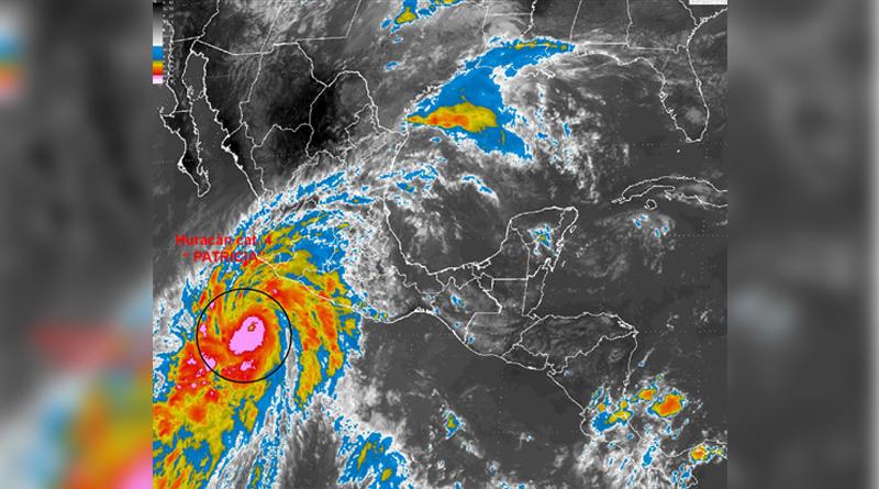 CNH dice no se prevé que huracán Patricia toque suelo en EEUU