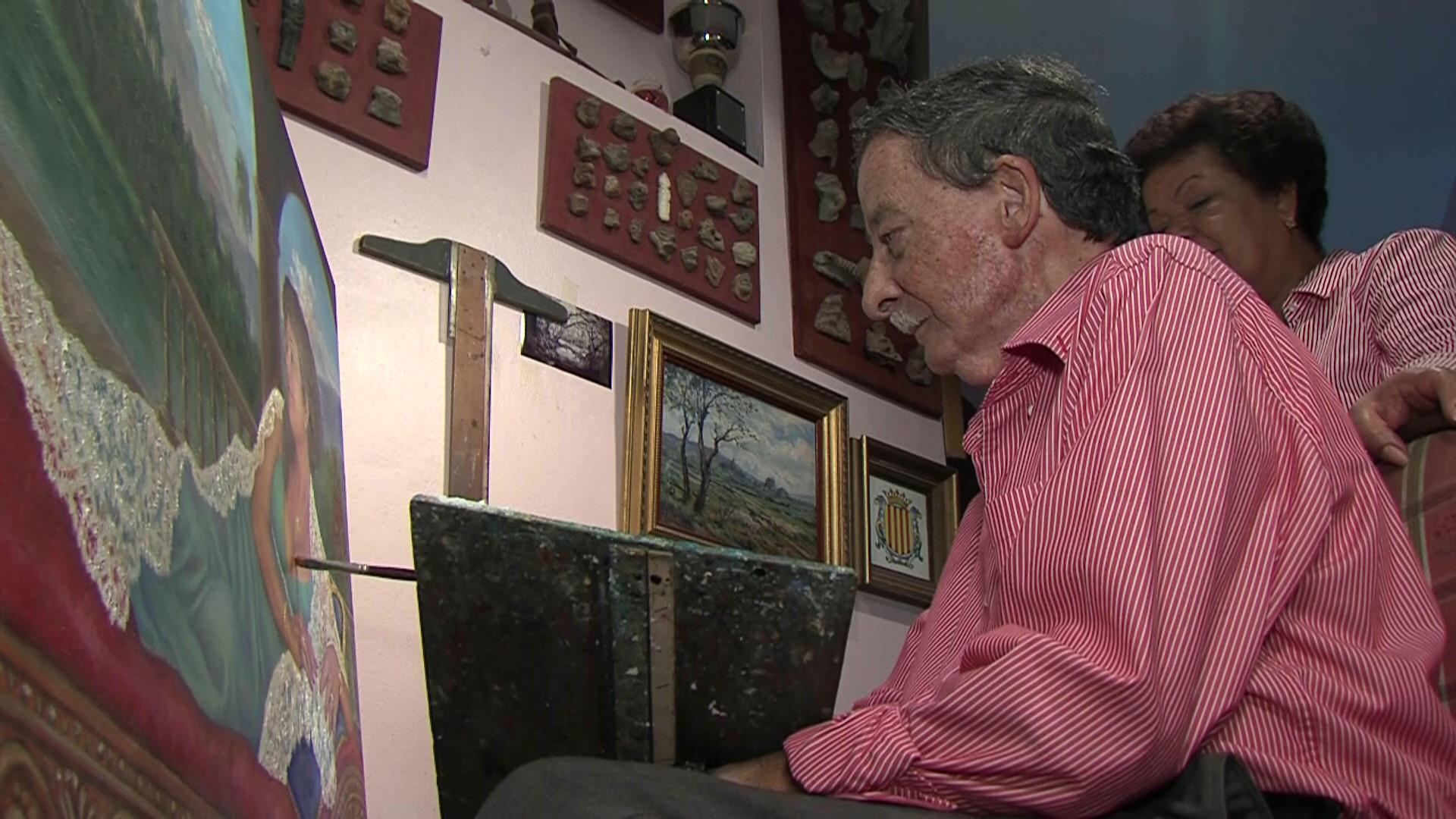 Conozca la historia de un restaurador de obras de arte