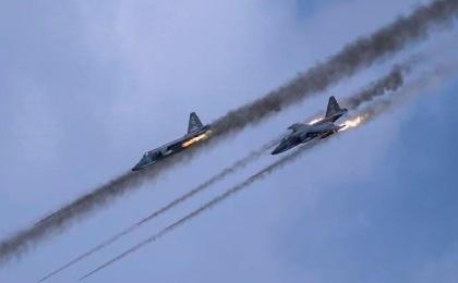 La aviación rusa bombardea otros 55 objetivos del Estado Islámico en Siria
