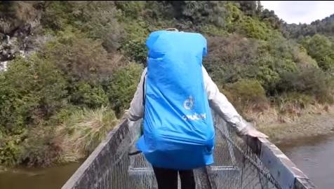 Vídeo capta el momento en el que cuatro turistas caen al agua desde un puente