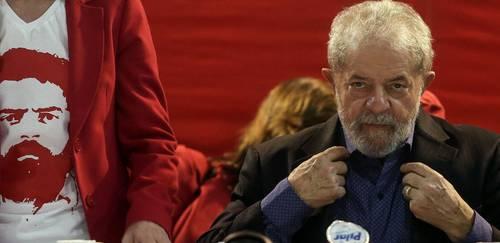 Lula se dice víctima de una