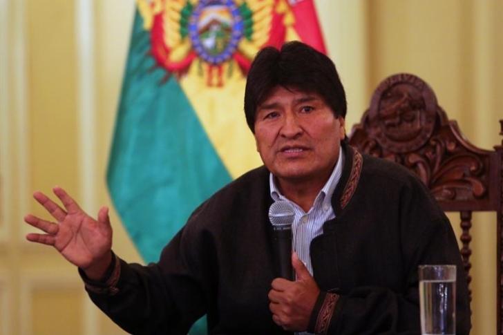 Morales critica que Trump llame a presidentes para tratar crisis venezolana