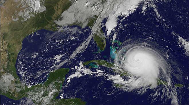 Huracán Irma se localiza al sureste de Las Bahamas
