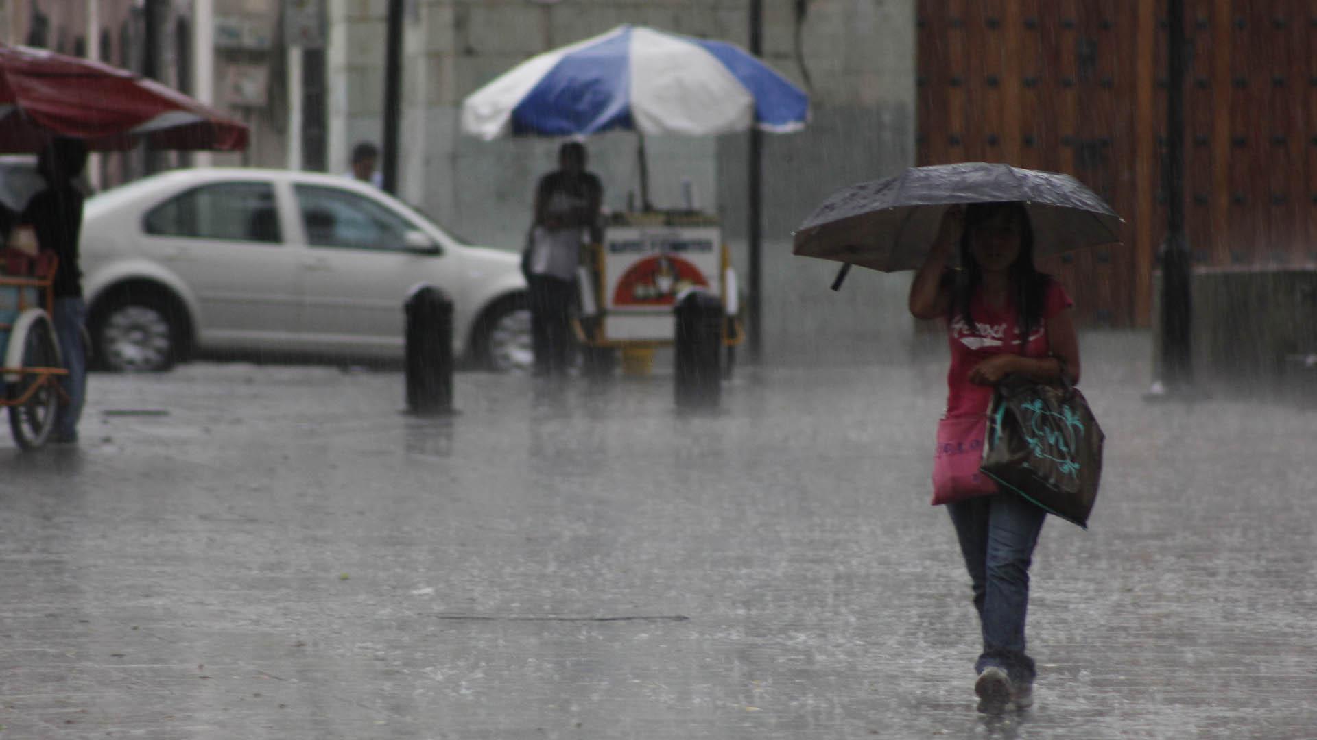 Onamet pronostica lluvia para todo el fin de semana