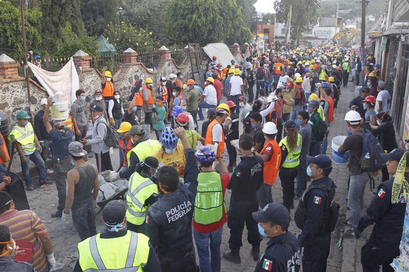 Un nuevo sismo sacude el centro de México y genera alarma