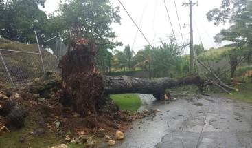 Huracán Irma provoca daños al sistema eléctrico en zonas del Cibao