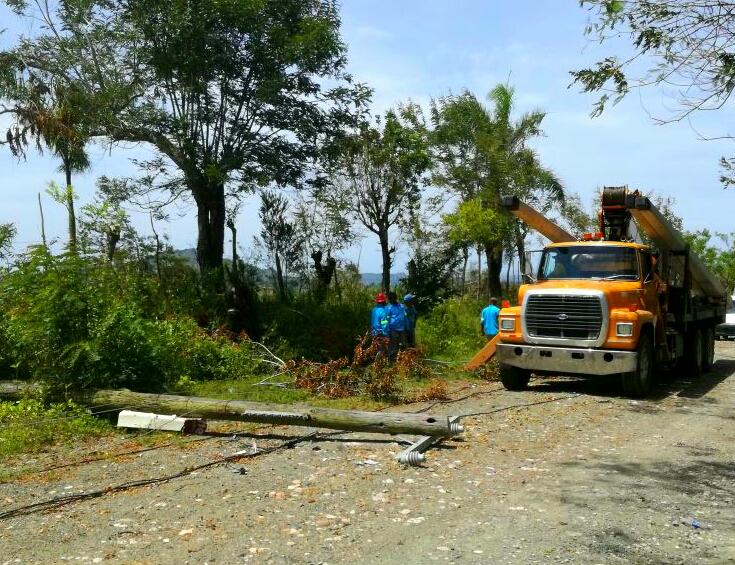 EDENORTE a punto de concluir solución averías en Puerto Plata