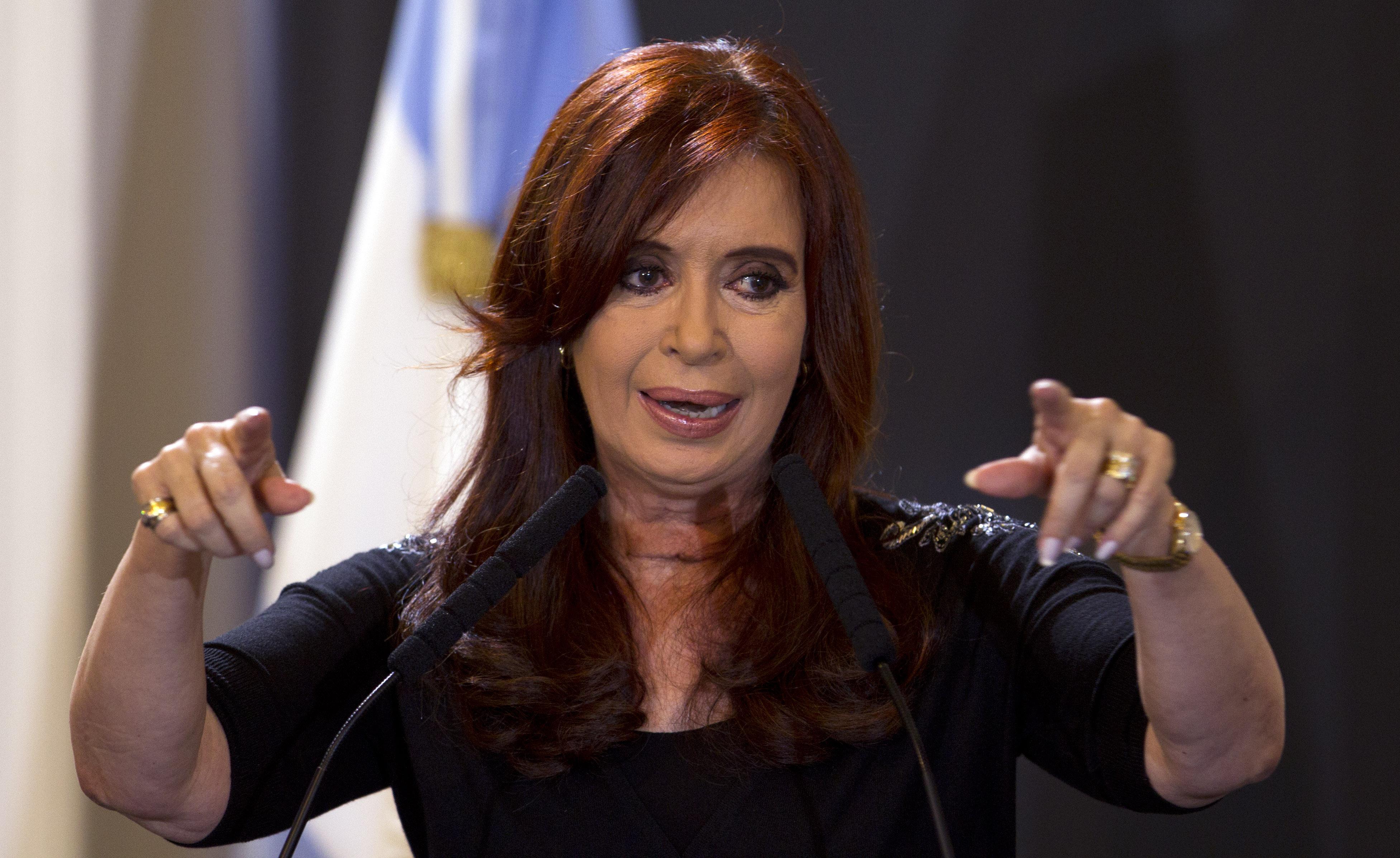 Cristina Fernández avisa de que el Gobierno de Macri prepara