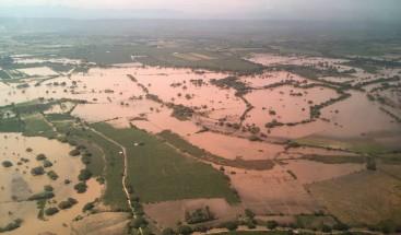 Medina visita municipio Palo Verde en Montecristi afectado por huracán María