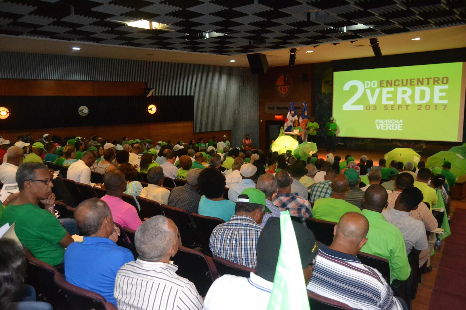 Marcha Verde intensificará proceso de lucha por el fin de la impunidad