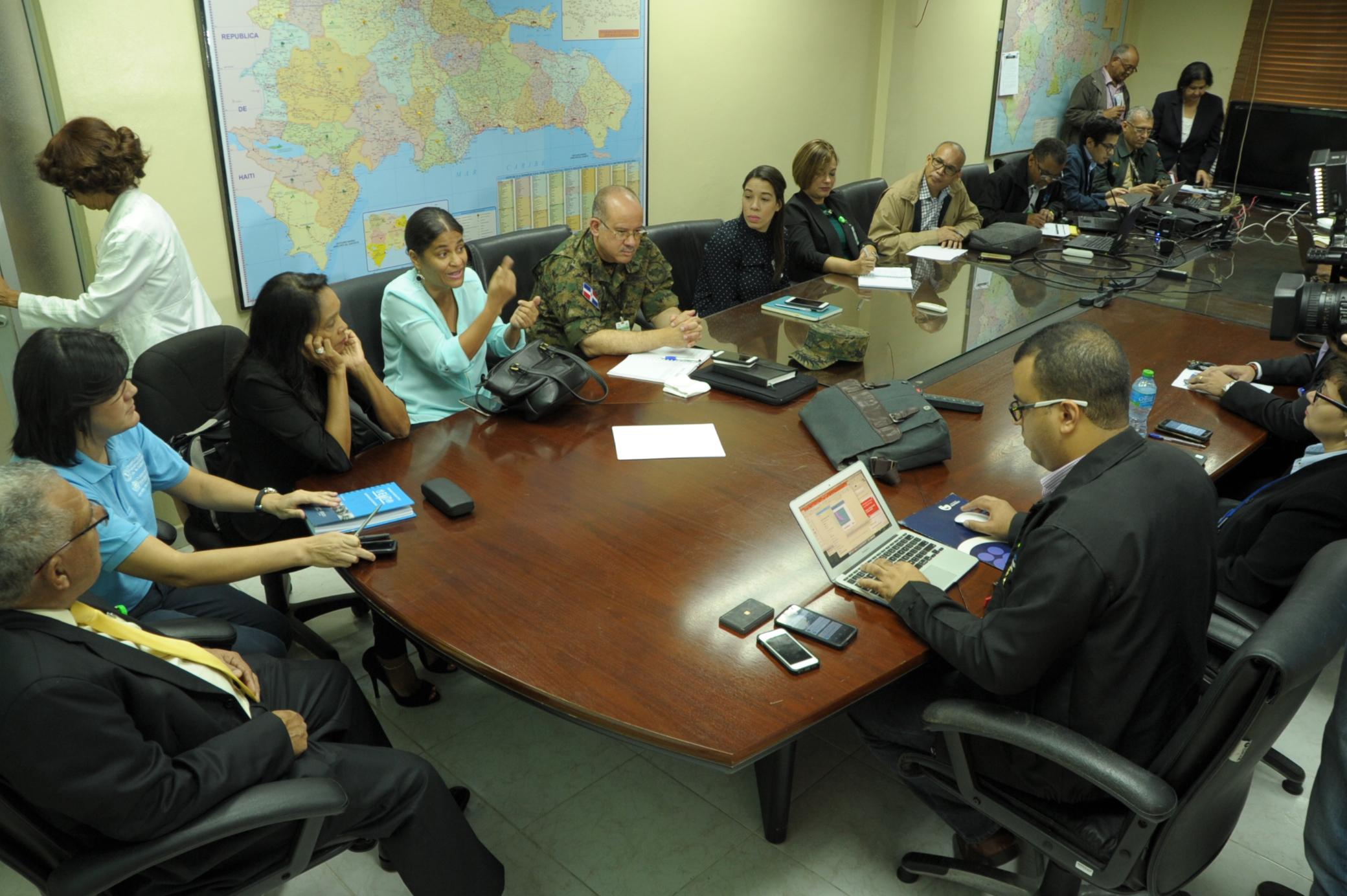 MS dispone últimas informaciones huracán; prepara respuesta y vigila condiciones albergues