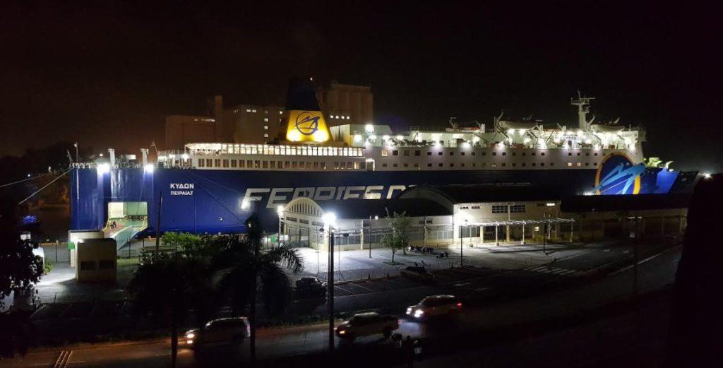 Ferries del Caribe cancela salida de barco por paso huracán María