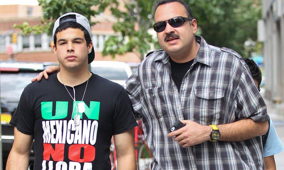 Tres años de libertad condicional a hijo de Pepe Aguilar por tráfico humano