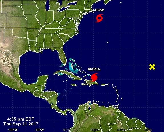 María, de categoría 3, se acerca a las Islas Turcas y Caicos