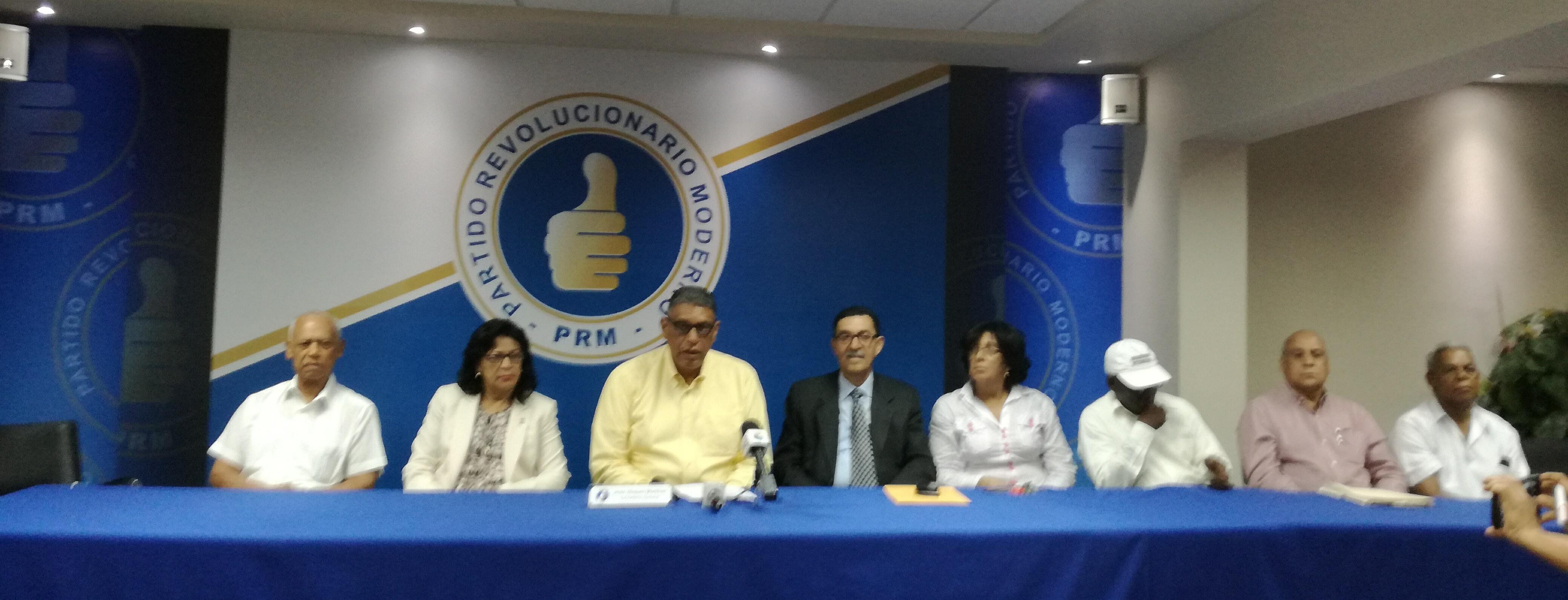 PRM instruye a militancia a sumarse a preparativos de prevención y mitigación a causa de Irma