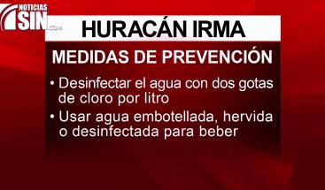 Medidas de prevención que debes tomar ante el paso de un huracán