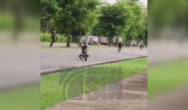 Apresan a tres nacionales haitianos que intentaron agredir a policías en el parque Mirador Sur