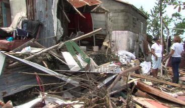 Autoridades en Puerto Plata realizan levantamientos en zonas afectadas por el huracán María