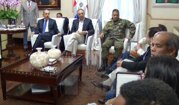 Presidente Medina instruye a funcionarios asistir de manera inmediata a los afectados por María