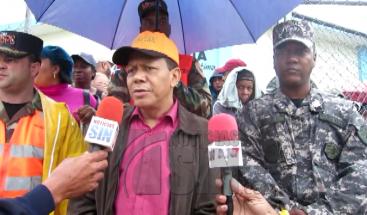Lluvias incomunican decenas de familias en Cotuí