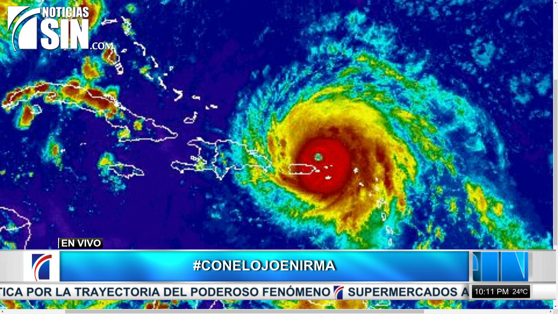 Onamet sigue la trayectoria durante este miércoles del huracán Irma