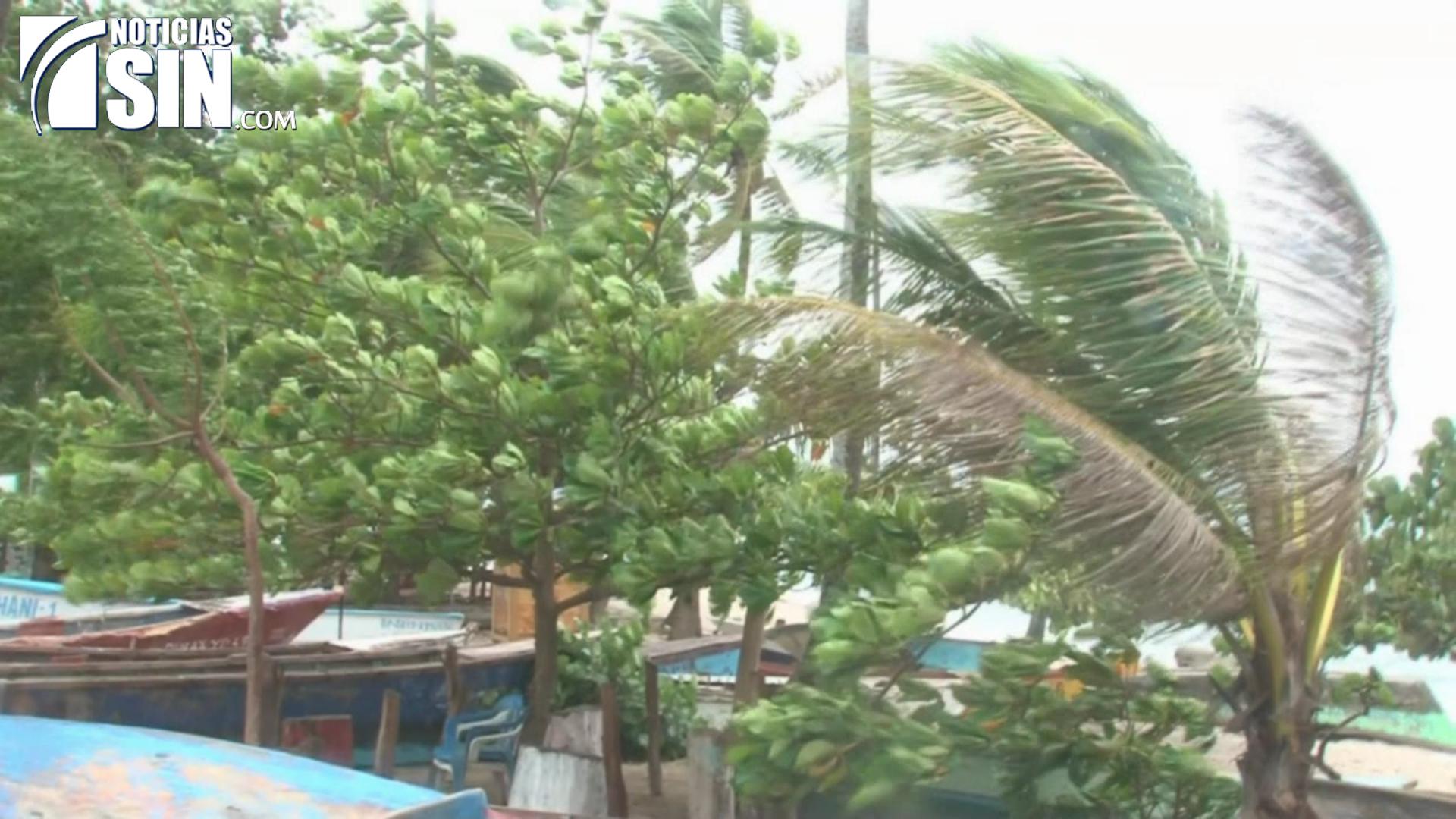Paso del huracán Irma por el país causa estragos en La Romana