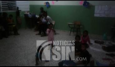Personas no querían salir de sus viviendas en Río San Juan