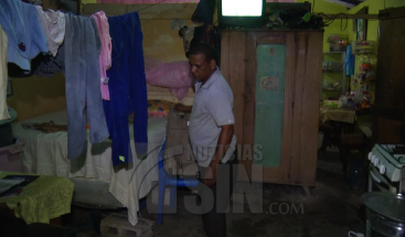 Residentes en La Ciénaga se preparan para recibir los estragos del huracán María