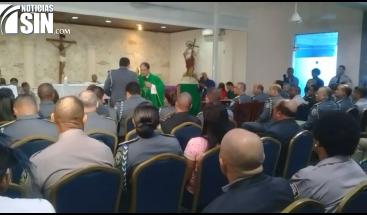 Capellán PN exhorta a nuevo jefe de la entidad mano dura para enfrentar inseguridad ciudadana