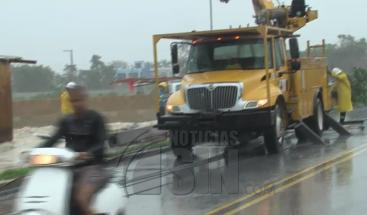 Huracán María provoca daños en Bávaro