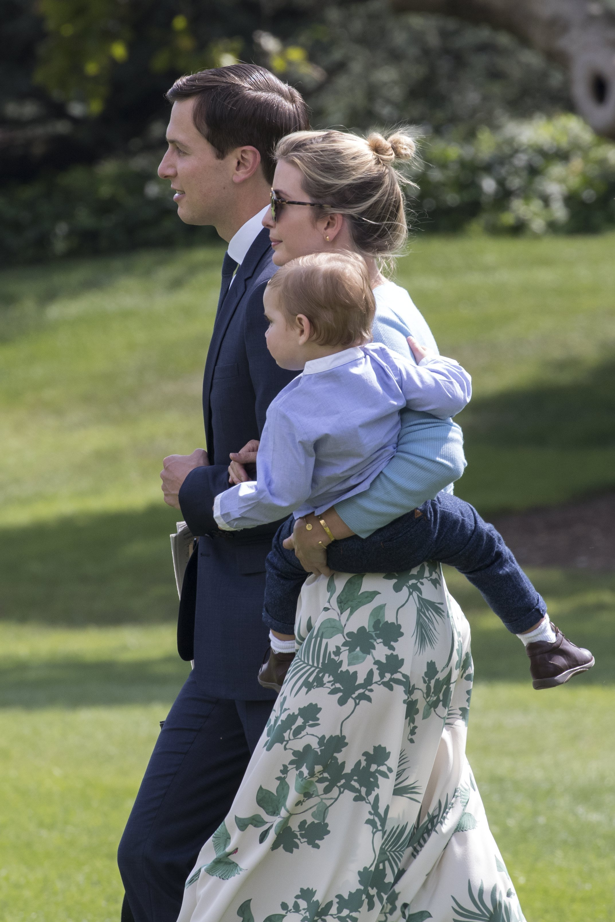 Ivanka Trump y Jared Kushner no son felices en Washington