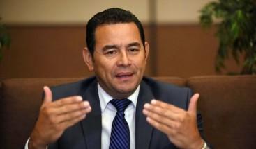 Jimmy Morales dice respeta independencia de poderes tras victoria en Congreso