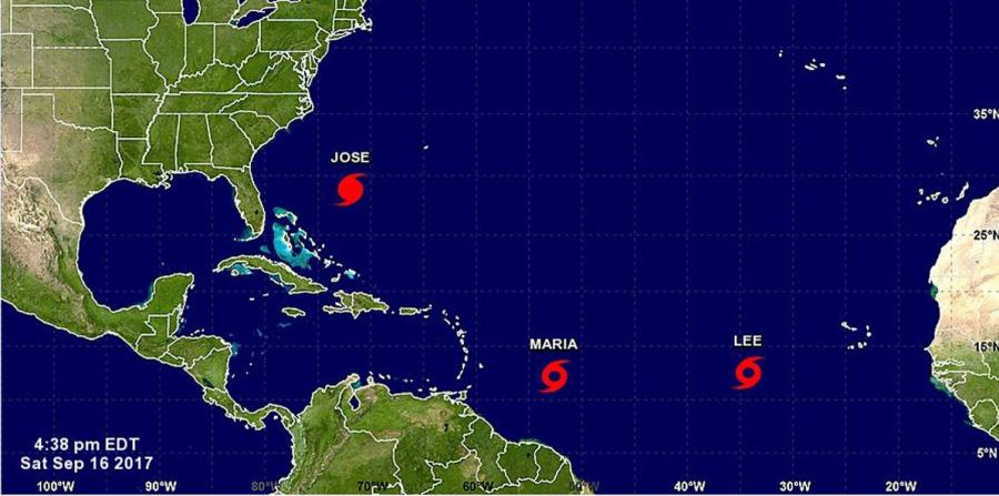 Se prevé María se convierta en un huracán en el transcurso de hoy