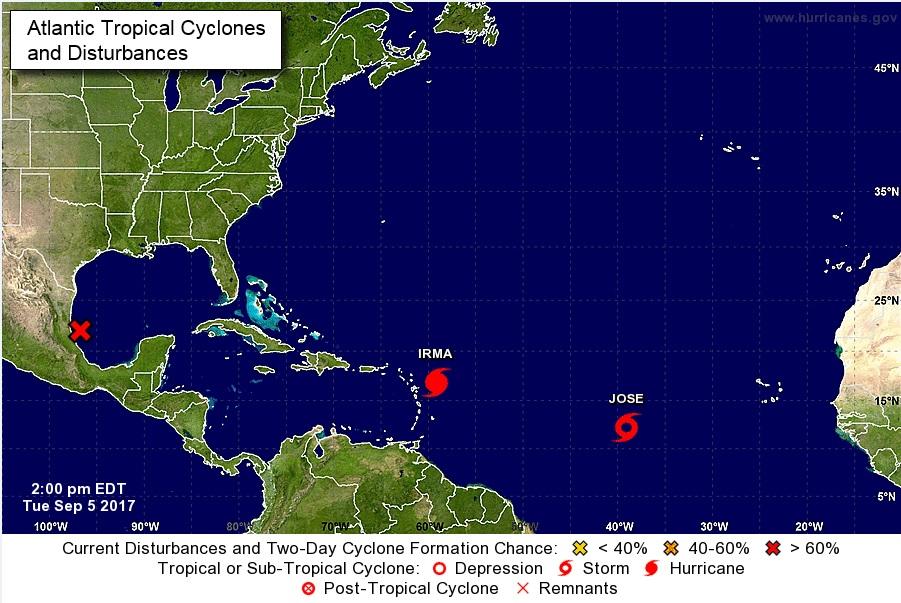 """NHC de EEUU advierte impacto de Irma será """"devastador"""" en las Antillas Menores"""