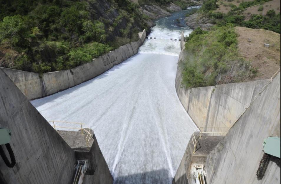 El INDRHI informa que embalse Tavera-Bao dispone de 14 metros para recibir las lluvias de Irma