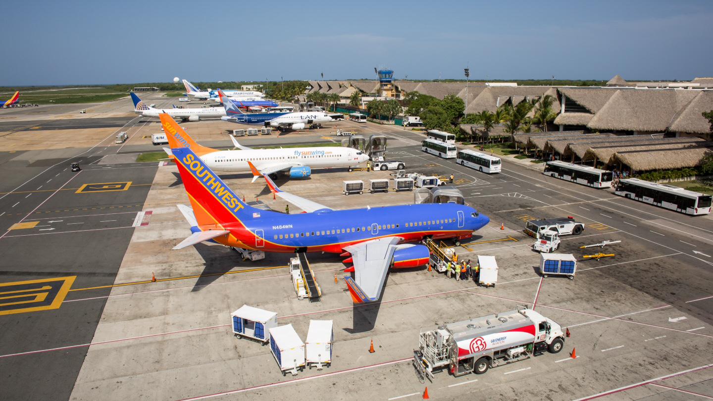 Aeropuerto de Punta Cana mantiene sus operaciones