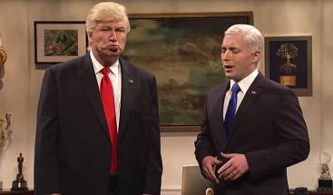 Alec Baldwin 'trolea' a Trump tras recibir un premio Emmy por parodiarlo